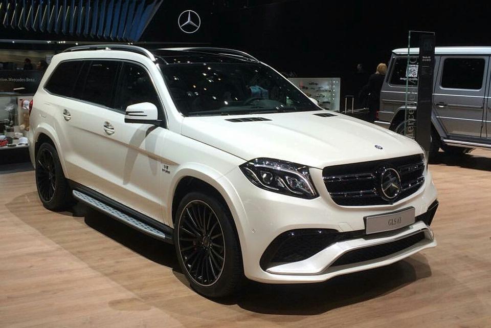 Рестайлинг Mercedes GL в GLS 63